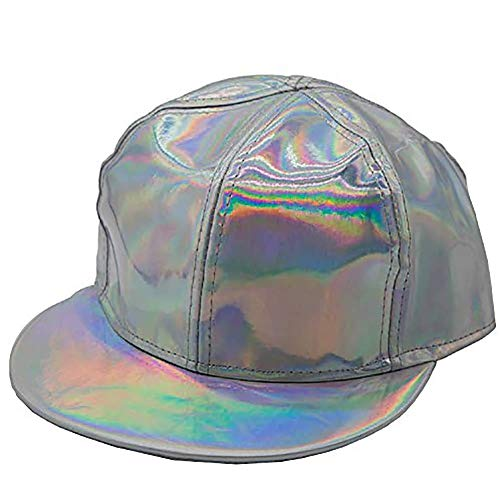 Mesky EU Back to The Future Gorra Beisbol de Marty Mcfly Hat Rainbow Regreso al Futuro Cap Decoloracin Ajustable Diario Poliester Unisex para Hombre Mujer