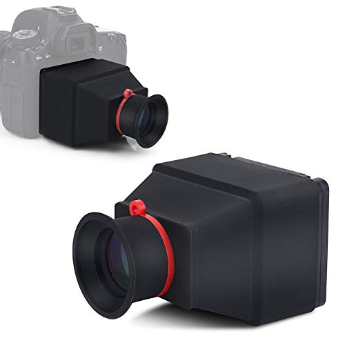 Mavis Laven Visor, Durable, Portátil, Diseño, 3.2 Pulgadas, LCD, Visor, 3X, Lupa, Accesorio, para cámaras réflex Digitales sin Espejo