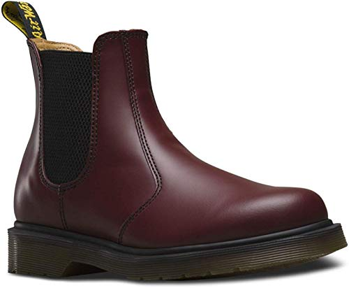 Dr. Martens Dr. Martens Unisex-Erwachsene 2976 Smooth Chelsea Boots, Rot (Cherry Red), 48 EU