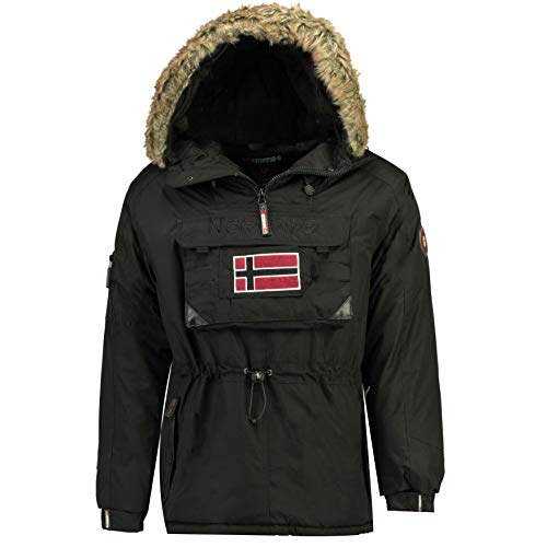 Geographical Norway Parka DE Hombre BECO Negro M