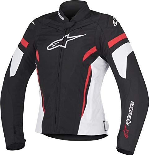 Alpinestars Motorradjacken Stella T-gp Plus R V2 Jacket Black White Red, Schwarz/Weiss/Rot, XL