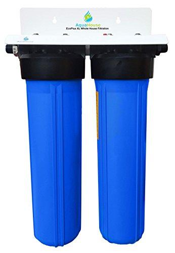 EcoPlus XL Waterfilter voor het hele huis en zout vrije onthardingsinstallatie, bewezen 99,6% effectieve schaalpreventie