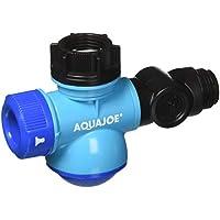 Aqua Joe Multi-Function Outdoor Faucet and Garden Hose Tap Connector