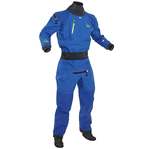 Palm 2016 Equipment Atom Back Zip Whitewater Kayak Drysuit Blue 11735 Inc Fleece