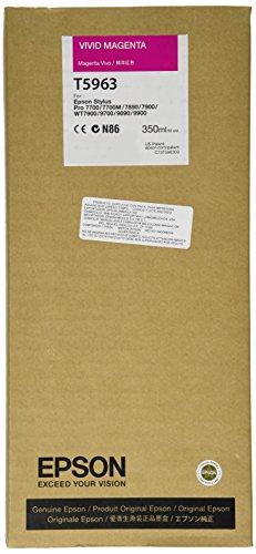 Epson UltraChrome HDR Ink Cartridge - 350ml Vivid Magenta (T596300)