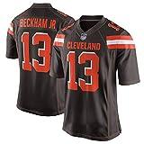 HANWAR Mayfield6# Garrett # Cleveland Browns Rugby vêtements Chemise Broderie Maillot de Football américain-black13-XL