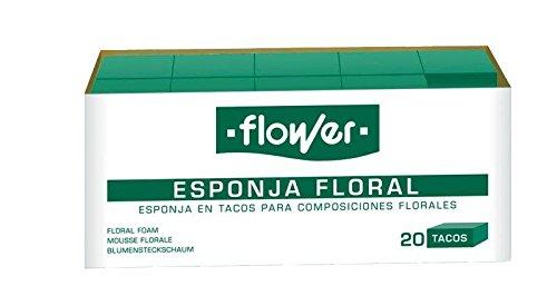 Flower 40507-éponge Fleur 20 Chevilles