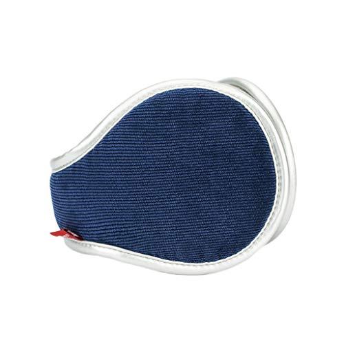 ZJ Warm halten Earmuffs Warm Earmuffs Earmuffs Mann-Winter Earmuffs Frauen im Freien Earmuffs Warm warm (Color : Navy Blue)