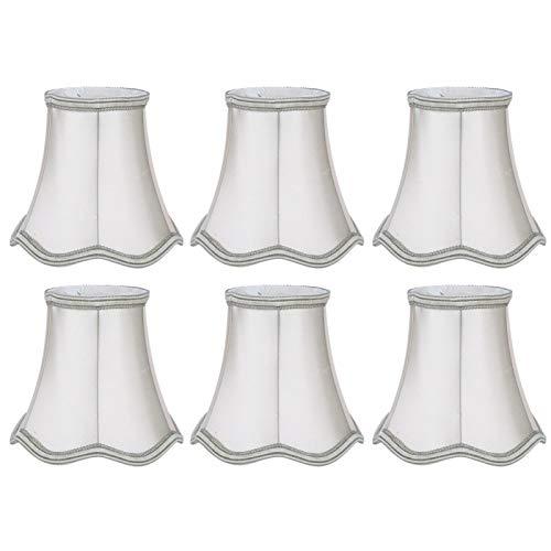 Pinsofy Cubierta de lámpara de Pared, Cubierta de lámpara de 6 Piezas, Resistente a Altas temperaturas para Sala de Estar, Estudio, Sala de Estudio, Dormitorio