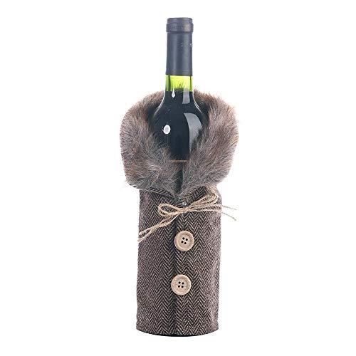 MAXJCN Vacaciones Decoraciones, Botella 3pcs / Lot Nuevo Navidad decoración de la...