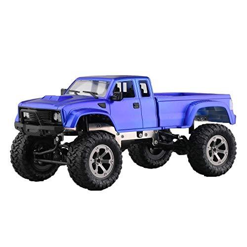 ADLIN Terrain Rc Cars, 2,4 GHz Super-kollisionssicherere Fernbedienung Auto-Akku, High-Speed-Buggy Monster Truck Crawler, Einzelradaufhängung, Geschenk for Kinder EIN (Color : Purple)