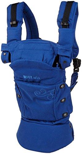 Moby Aria Dos de transport (Bleu)