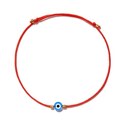Naz Collection Evil Eye Bracelet Red String Kabbalah Protection Handmade Adjustable Bracelet For Women Men Boys Girls Baby