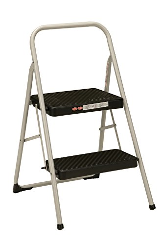 Cosco 2Step Household Folding Step Stool Gray