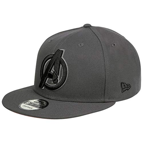 New Era Avengers A Dark Graphite Snapback Cap 9fifty 950 Marvel Avengers Endgame Basecap Limited Edition