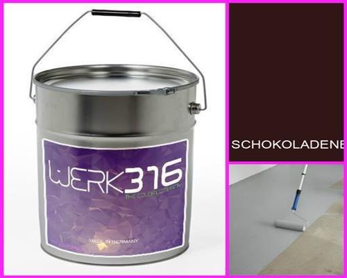 6,75€/l - 20L Bodenbeschichtung Betonfarbe Bodenfarbe Bodenversiegelung Garagenfarbe Schokoladenbraun