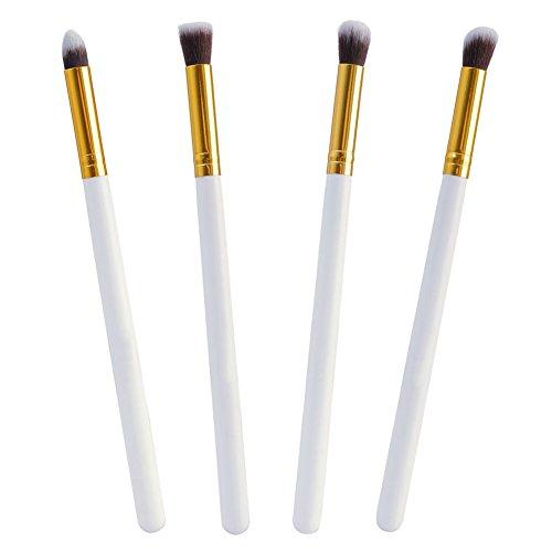 Set de 4pcs Pro Pinceaux de Maquillage pour Fard à Paupières Yeux Outil Cosmétique