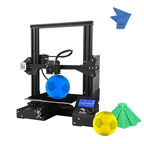 Creality 3D Ender-3 3D Printer DIY Easy-assemble 220 * 220 * 250mm Printing Size with Resume Printing Support PLA, ABS, TPU