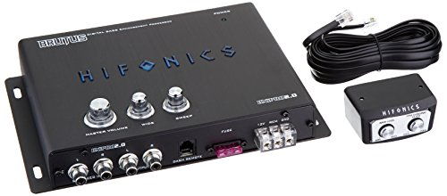 Hifonics BXIPRO2.0 Digital Bass Enhancement Processor with Noise Reduction Circuit, Black