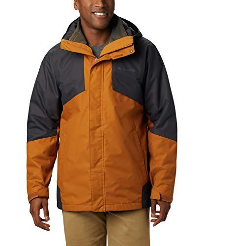 Columbia Men's Bugaboo Ii Fleece Interchange Jacket, Burnished Amber, Shark, Large