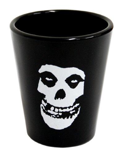Merchandise Shot Glas - Misfits - Skull