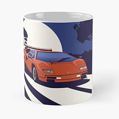 Countach Classic Mug Best Gift Coffee Mugs 11 Oz