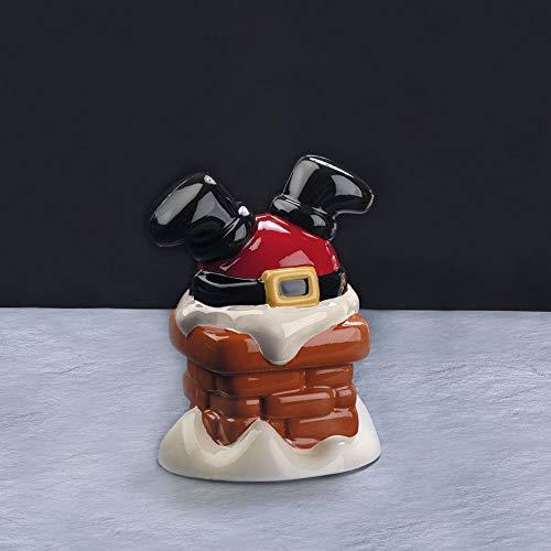 2 Kit Stampo PVC termoformato per cioccolato Santa Chimney Babbo Natale Ø mm 125x170h