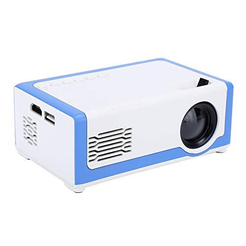 Sxhlseller Mini Proyector Altavoces de Audio 3D Integrados - Proyector 320x240 Altavoces...