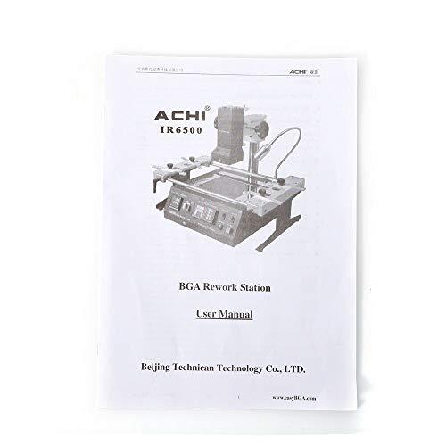 BGA Rework Station Infrared Welding Machine SMD Soldering Reflow Station Welder Repair Heating Reballing IR6500 1250W CE Certification Fit Xbox360 PS3
