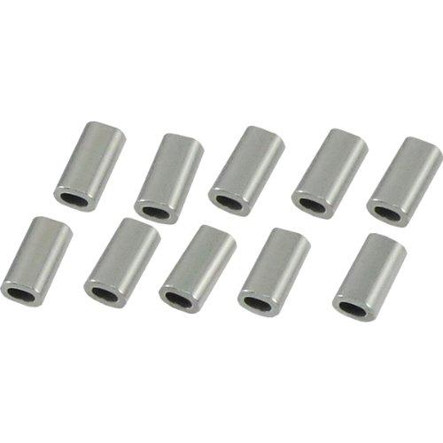 ひめじや アルミクランプ管(アルミスリーブ) 10個入 1.0mm