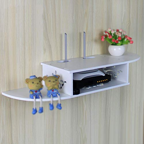plank TV set-top box router opslag beugel/muur opknoping