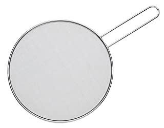 HIC Harold Import Co. 30026 Splatter Screen Guard Strainer, 18/8 Stainless Steel, Fine Mesh, 9-Inches (B003VAP2MM) | Amazon price tracker / tracking, Amazon price history charts, Amazon price watches, Amazon price drop alerts