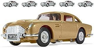 James Bond Aston Martin DB5 six-pack one gold five silver - Thunderball 50th Anniversary (1:43); CC04206-6