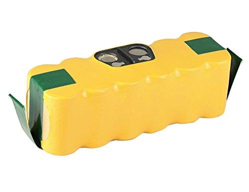 Mitsuru® 3300mAh Ni-MH 14,4V batería para iRobot Roomba 500 600 700 800 Serie Recambio iRobot 11702 80501 80601 VAC-500NMH-33
