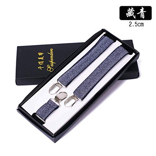 SUPOOGO drie clips 3,5 breed mannen riem clip jacquard riem broek opknoping broek broek Clip geschenkdoos