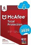 McAfee Total Protection 2020 | 6 Dispositivo | 12 Meses | PC/Mac/Android/Smartphones | Código de activación enviado por email