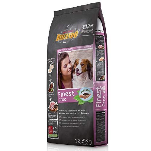 Belcando Finest Croc [12,5 kg] Hundefutter   Trockenfutter für kleine & mittlere Hunde   Alleinfuttermittel für ausgewachsene Hunde ab 1 Jahr