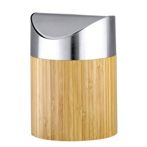 Axentia 251076 Kosmetikeimer Bonja Bambus 2 l
