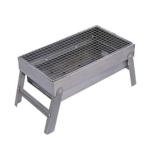 New Family gathering / small barbecue Outdoor Grill Simple Charcoal Quick Folding 3-5 People Multifu...