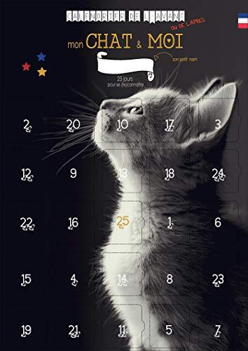 Calendrier de l'avent MON CHAT et Moi – 25 jeux et astuces à partager – Calendrier de l'AVANT ou de l'APRES pour Adulte et CHAT