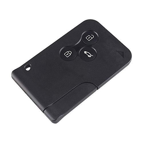 topone1 Smart Remote Key Shell caso para Renault Clio Logan Megane 2 3 Scenic Laguna Espace Smart Card Car Key Case