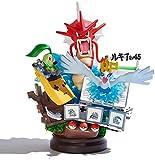 TQGG Modelos de Figuras de Pokemon Gyarados Ho-Oh Lugia Rayquaza Figura de acción Colecciones de 18 cm para niños Juguete