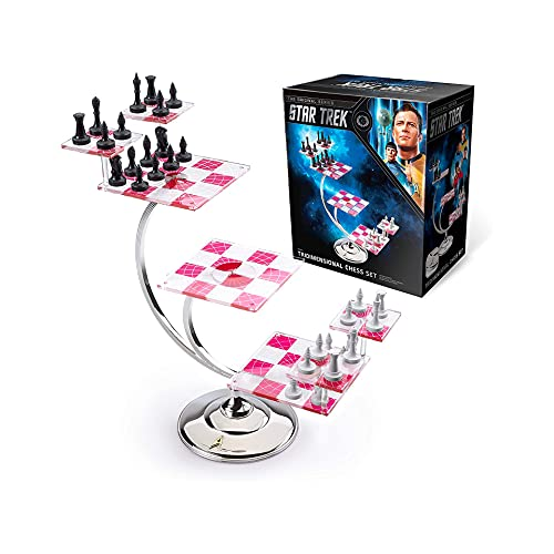 The Noble Collection Star Trek Tri Dimensional Chess Set