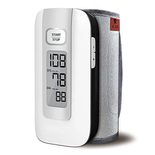 GYL Tensiómetro de Brazo Monitor de presión Arterial del Brazo Superior - Casa de Salud Cuidado Mayor compresión Inteligente de Arritmia del símbolo del impuesto: esfigmomanómetro