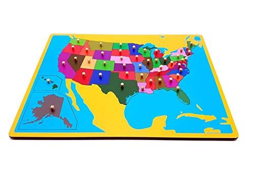 Puzzles  madera estados unidos