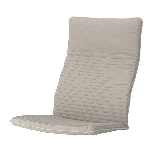 Ikea POANG Cuscino per Poltrona, Knisa Beige Chiaro