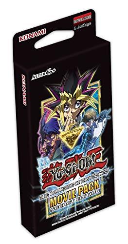 Konami Yu-Gi-Oh Movie Pack Secret Edition The Darkside of Dimensions (1 Box) - Deutsche Ausgabe