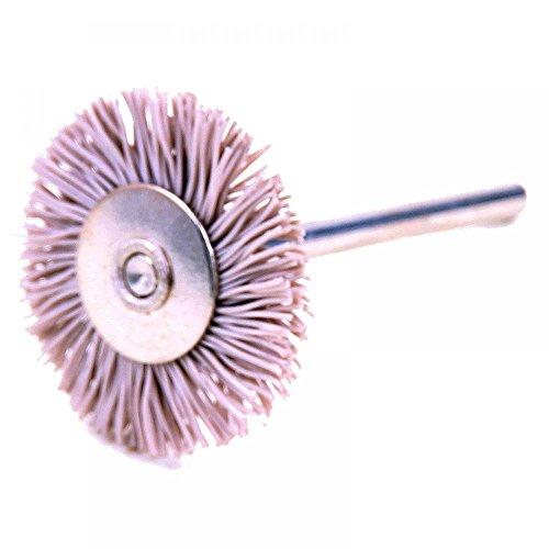 Rotation Brosse –, corindon Revêtement, Ø 24 mm, en plastique avec 3 mm tige 60758