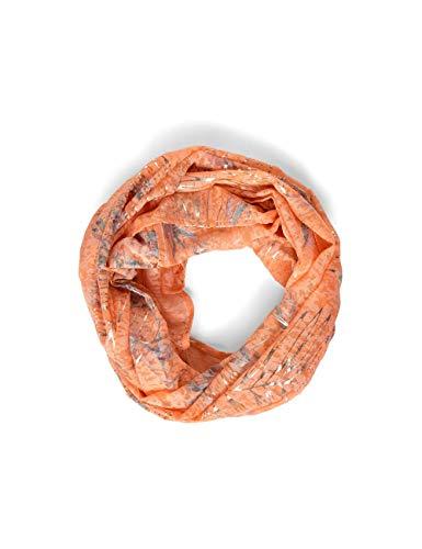 Cecil Damen 571208 Mode-Schal, Cantaloupe orange, One Size