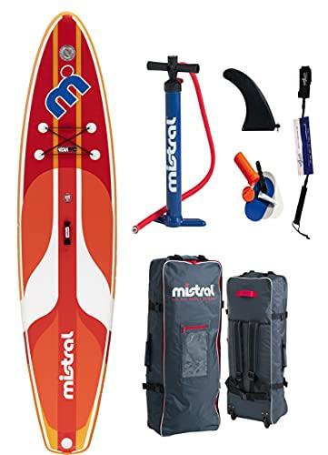 Mistral Tango 11'5' Single Chamber tecnología DSFL, tabla de surf de remo, SUP, hinchable, incluye tabla SUP SUPwave.de Coil-Leash Stand Up Paddle Board iSUP